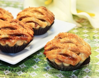 Mini Apple Pies, Gourmet Mini Fruit Pie - 1 dz