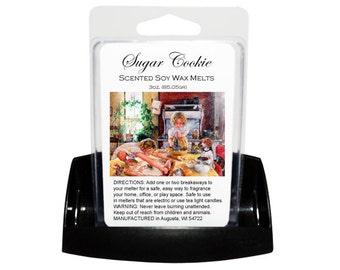 SUGAR COOKIE Soy Melts - Wax Tarts - Soy Tarts - Candle Tarts - Melting Tart - Scented Tart - Tart Melt - Wax Melt - Clamshell - Dye Free
