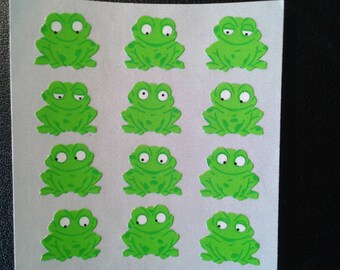 Sandylion Stickers Green Frogs, Frog  (1 mod)