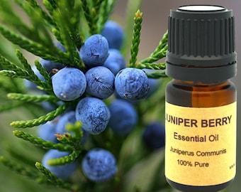 Juniper Berry Essential Oil 5ml, 10 ml or 15 ml