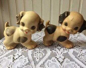 Rubber squeak toy vintage toy sun rubber company
