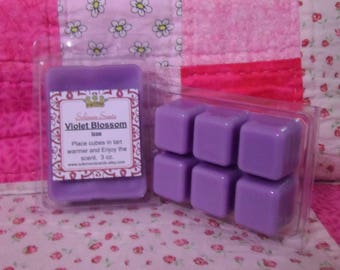 Blossom of Violet type Wax Melt