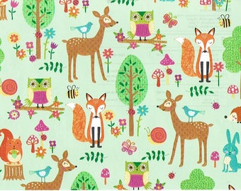 ROMAN Gift Wrap - Pattern: Forest Animals