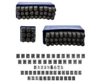 Proops 3mm Metalwork Letter and Number Stamp Set, Penguin Font, A-Z LOWERCASE & UPPERCASE and Number Set. (J2160) Free UK Postage
