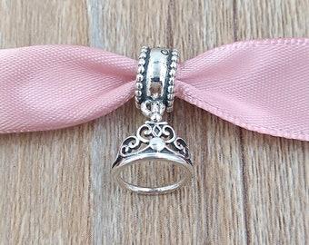 Authentic Pandora Charm Jasmines Tiara 791792