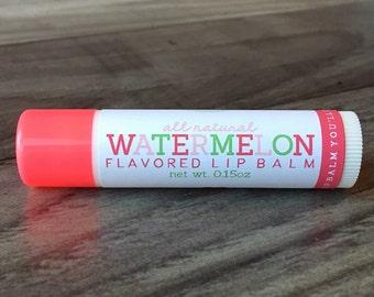 WATERMELON Lip Balm - All Natural - Homemade