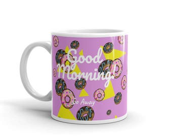 Donut Good Morning Mug