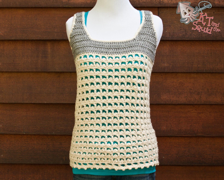 Crochet tank pattern crochet tank pattern summer spring