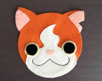Jibanyan Inspired - Iron On Applique/Patch - Made Out of 100% Recycled Felts