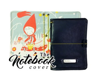 The Notebook Cover: Shinzi Katoh Little Red Riding Hood A6 Size 5x7 inches