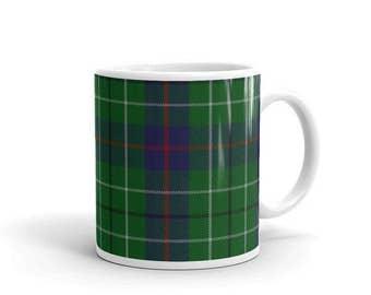 Duncan Scottish Tartan Clan Mug Two sizes! Printed-to-order in the U.S.A.