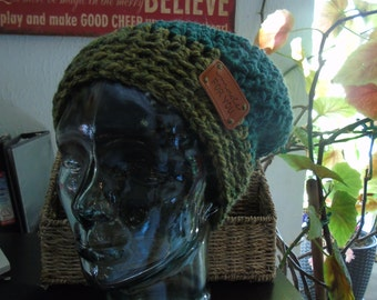 Chunky Slouch with Ribbed Brim - Adult Size - NEW
