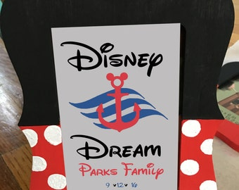 Minnie Mouse Disney Photo Frame Great for Fish Extender