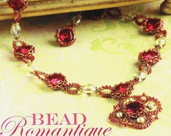 Paperback Book Bead Romantique Elegant Bead Weaving Designs Slightly Used Very Good Condition Lisa Kan Right Angle Weave Peyote Ladder Brick