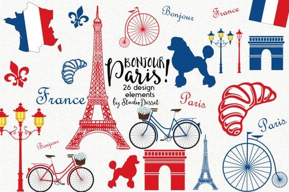 france cliparts paris clip art eiffel tower clipart poodle rh etsy com Vintage French Clip Art Vintage Paris Clip Art