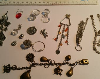 set of 14 charms various forms