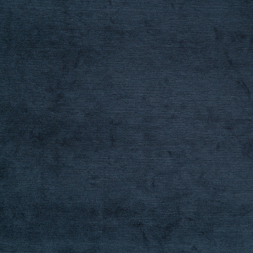 Navy Blue Chenille Upholstery Fabric for Furniture Dark Blue