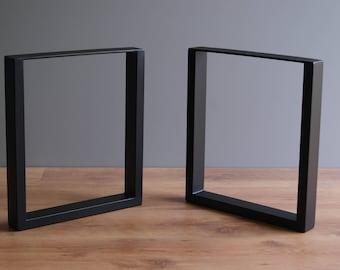 U shape bench legs, coffee table legs, bench base, coffee table base (SET OF 2)