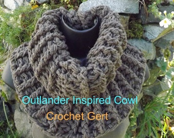 Outlander Inspired Cowl Pattern