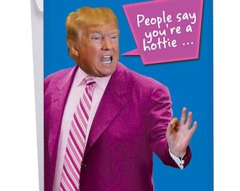 Funny Valentine Card Trump Etsy