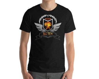 Magic The Gathering Burn Deck Shirt, MTG T-Shirt, MTG Deck Archetype Tee, Magic The Gathering Shirt