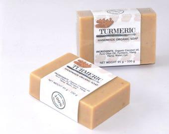 Organic Turmeric - Ylang Ylang Handmade Soap by Five Natures