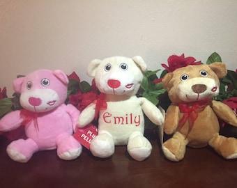 Personalized Valentine's Day Teddy Bears