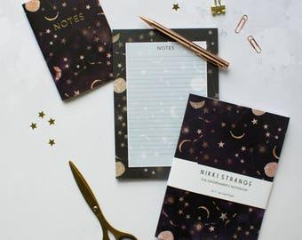 Constellations stationery set