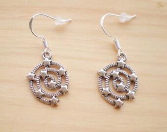 Celestial Earrings, Star Earrings, Charm Earrings, Jewelry Findings