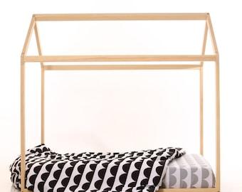 70 x 140 cm lit cabane lit maison lit bébé lit montessori