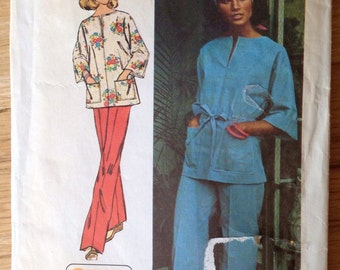 Vintage Top and Pants Simplicity 6469 • size 12