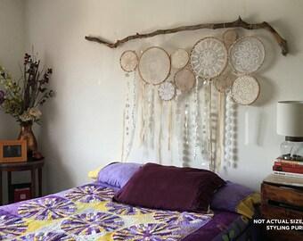 """32-36"""" inch Dreamcatcher, Boho Dream Catcher, Nursery Decor, Wall Hanging, Bohemian Home Decor, Boho Bedroom Decor, Hippie Wedding Decor"""