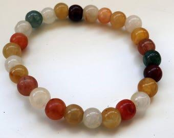 Burmese stones bracelet