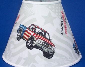 Chevy Truck Americana Lamp Shade