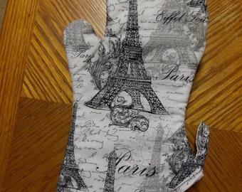 Paris Oven Mitt
