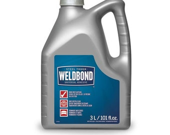 101 ounce  size large weldbond Jug