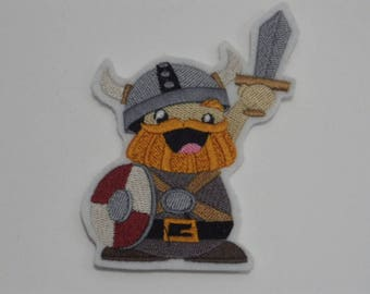 Fantasy Iron-On Patch. Embroidered Patch. Sew-on Patch. Glue-on Patch. Viking Patch