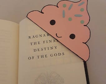 Ice Cream Cone Corner Bookmark