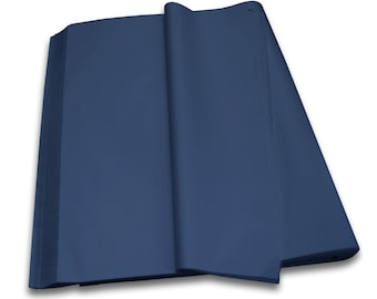 DARK BLUE - Acid Free Luxury Tissue Paper Sheets 750mm x 500mm