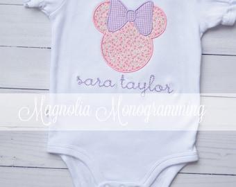 Minnie Mouse Infant Bodysuit