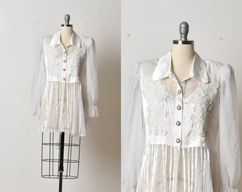 White blouse, Transparent blouse, Womens top, Satin blouse, White womens shirt, Elegant blouse, Formal blouse, Long sleeve, Tapestry blouse