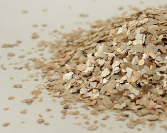 LIGHT GOLD Mica Flakes