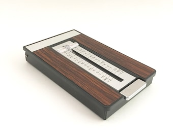 Address Index File Phone Number Desk Accessory Mid Century