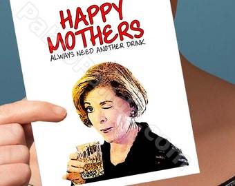 Mothers Day Card | Arrested Development  | Funny Mothers Day Card For Mama Gift For Mother Mom Card Friendship Cards Mothers Day Gift Funny