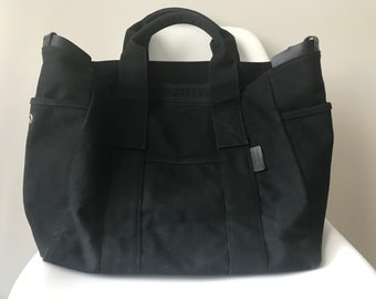 MOVING SALE: Agnes B tote bag in Black