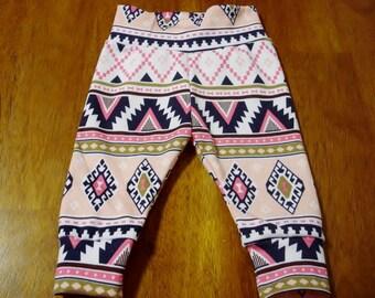 Baby Leggings, Tribal leggings,  Baby boy girl leggings, baby pants baby girl leggings