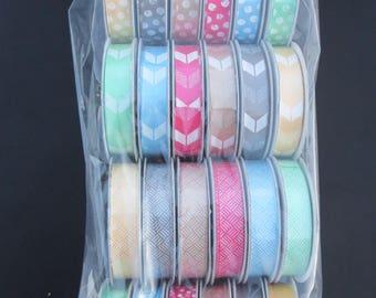 American Crafts Premium Ribbon -Amy Tangerine 366062