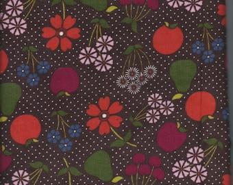 100 % Cotton Corduroy Floral Fabric