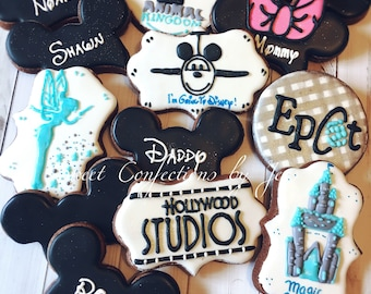 Going To Disney cookies