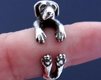 Great Dane Ring, Sterling Silver Ring, Great Dane Art, Great Dane Jewelry, Dog Ring, Dog Jewelry, Animal Ring Animal Jewelry Adjustable Ring